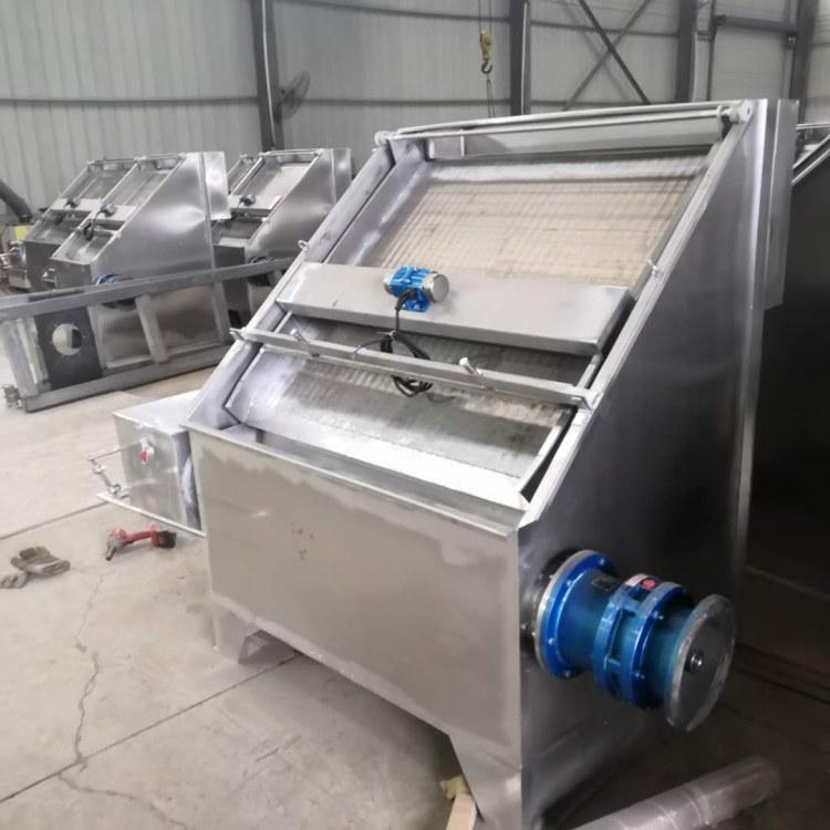 厂家 猪粪牛粪鸡粪脱水机处理设备价格 粪便处理设备猪粪挤干机器