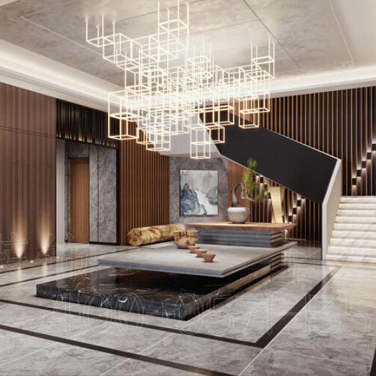 杭州酒店公寓装修设计效果图-专业定制设计图-博妍装饰