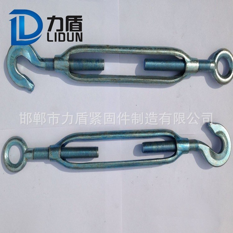 花篮螺栓 开体花篮 调节螺栓 规格齐全 厂家批发 力盾紧固件