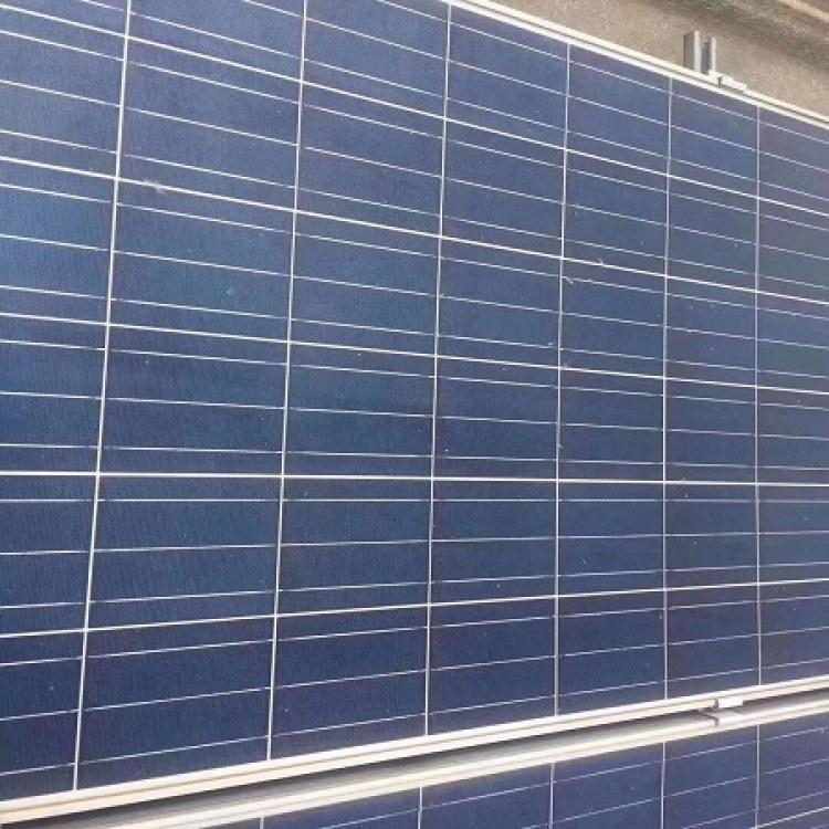 工程需要采購多晶光伏組件 305W光伏電池板回收 怡凡鑫硅
