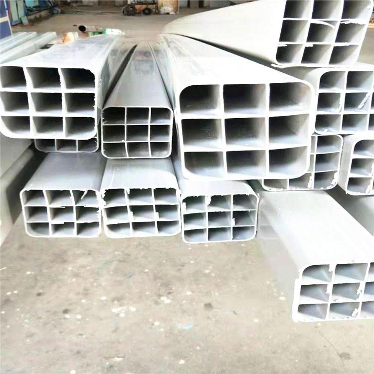 PVC栅格管  专业生产四孔、六孔、九孔栅格管 PVC格栅管规格型号全