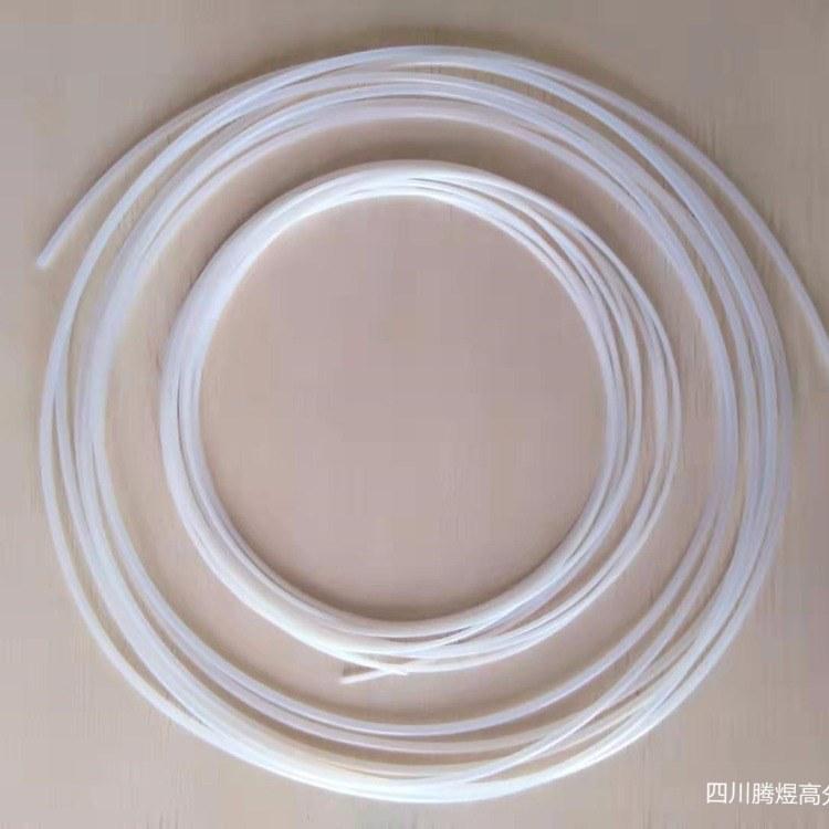 四川腾煜 厂家生产全新耐高温铁氟龙管 聚四氟乙烯加工定制