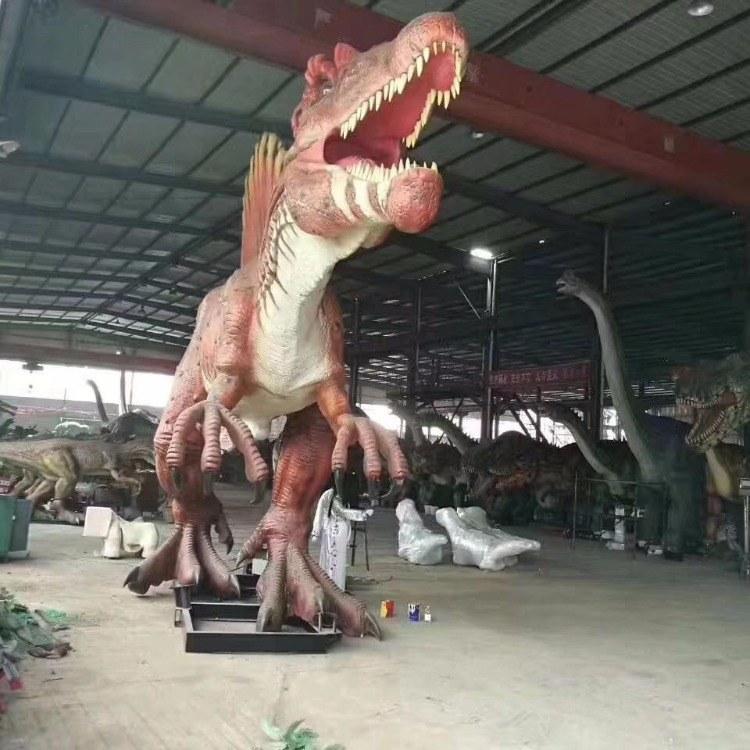 仿真恐龙模型工厂 弘讯户外展览仿真恐龙模型大型制作基地 长期供应