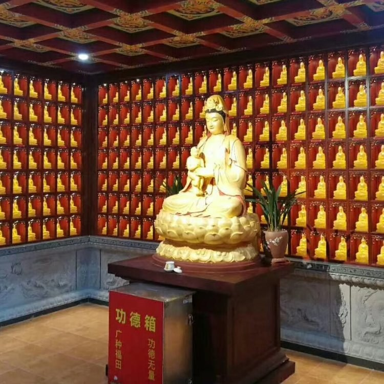 寺庙琉璃万佛墙厂家定做,寺庙古法琉璃佛砖定做