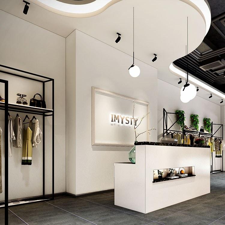(多图)杭州服装店装修案例-服装点装修选择[博妍装饰]-杭州大型公装公司-工期短-施工质量优