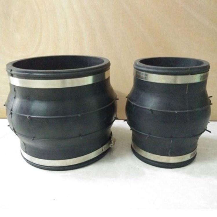 凯茂管道 橡胶接头 耐磨可曲挠橡胶接头 法兰橡胶接头
