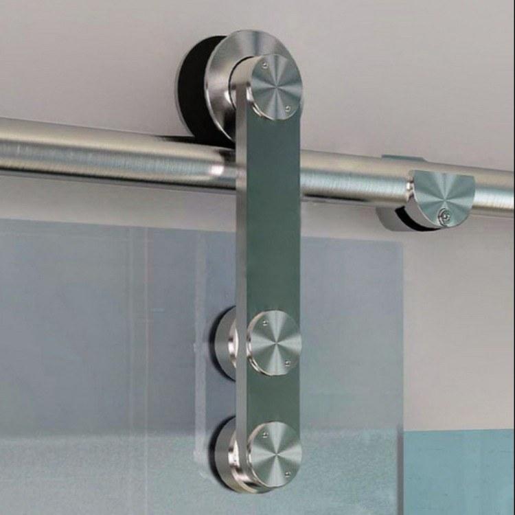 花键不锈钢滑轮酒店工程玻璃移门滑轮01A玻璃移门不锈钢滑轮
