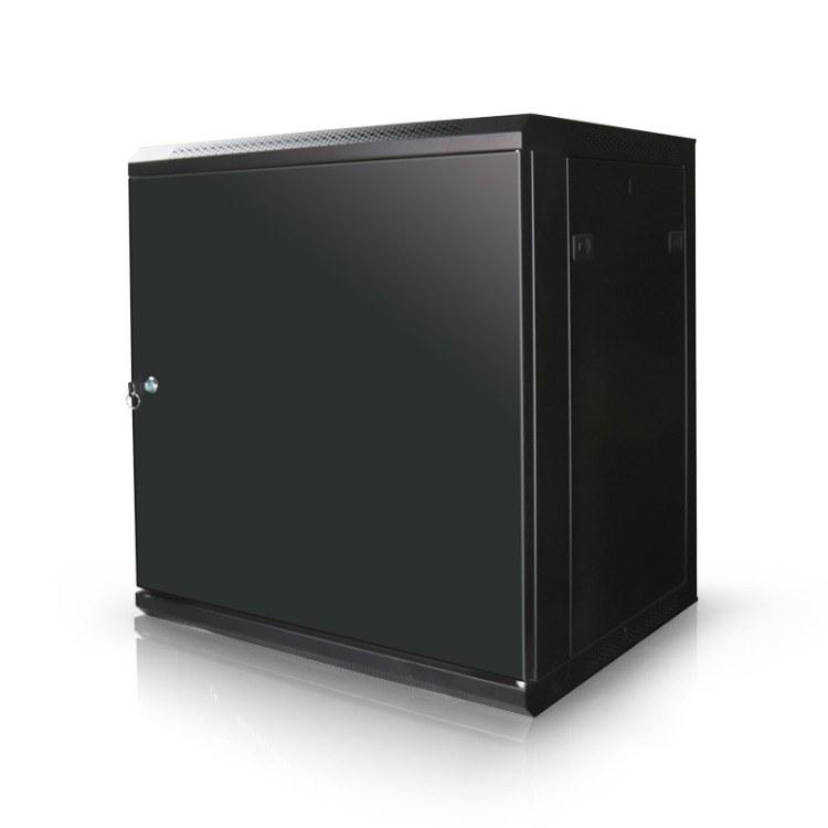 18U挂墙机柜 0.6米网络墙柜 高强承重