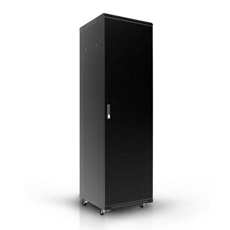 42U网络机柜 高2米0.6米 优质加厚板材