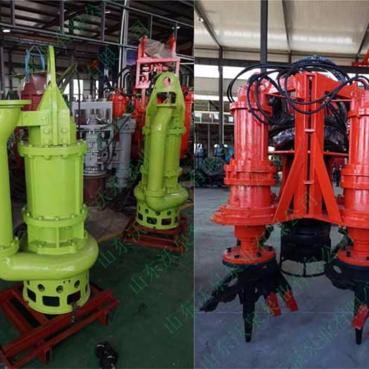 烟台电动抽沙泵 潜水吸泥泵 电动抽渣泵