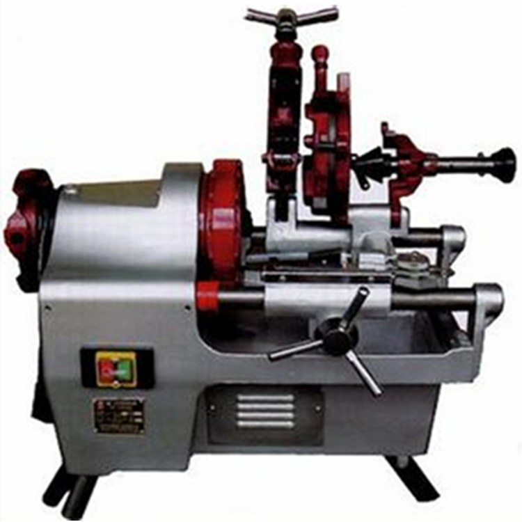 一诺机械电动套丝切管机 台式套丝切管机 电动套丝机