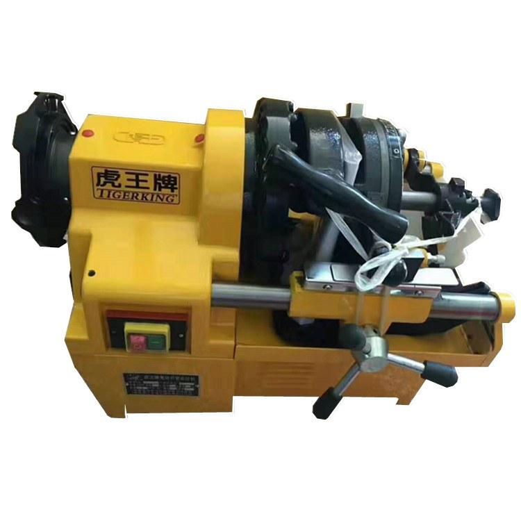 一诺机械电动套丝机 台式套丝切管机 螺纹套丝切管机