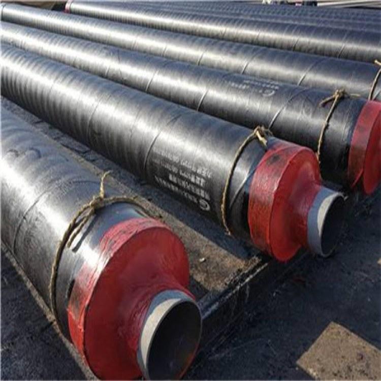 冷库用聚氨酯发泡保温钢管 直埋式供热保温管道 黑夹克发泡保温无缝钢管
