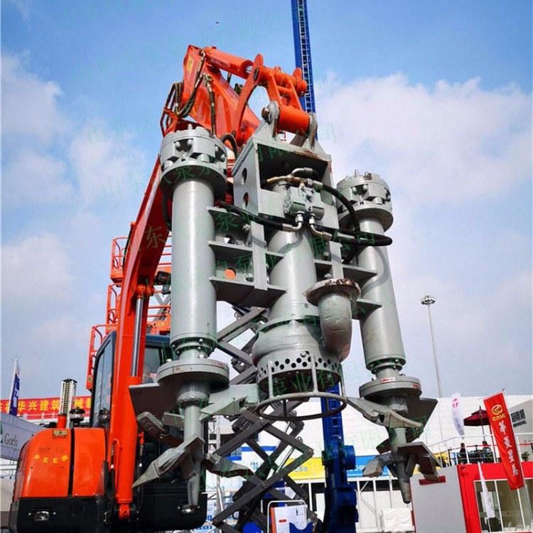 安康挖掘机抽渣泵 液压清淤泵 挖机泥浆泵