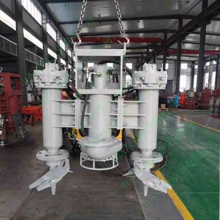 泰州挖掘机渣浆泵 液压吸泥泵 液压清淤泵
