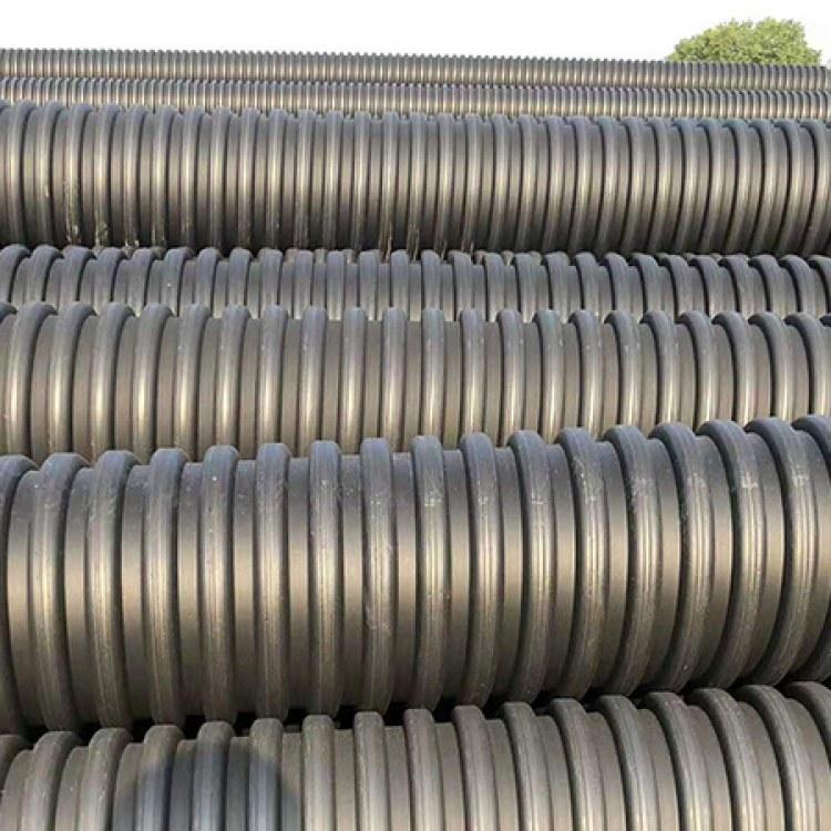 安徽合肥内肋增强聚乙烯PE波纹管厂家直销 内肋管供应定制价格