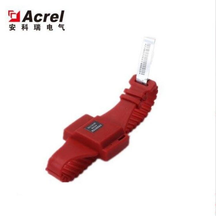 安科瑞ATE200表带式无线测温传感器 安装断路器触头 母排处