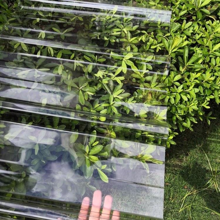 深圳小波浪透明瓦工程塑料采光瓦