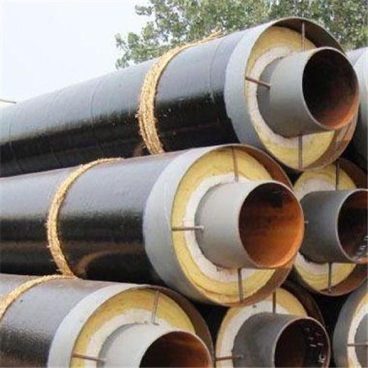 昊都实体厂家现货销售 钢套钢保温钢管 聚氨酯无缝钢管保温管