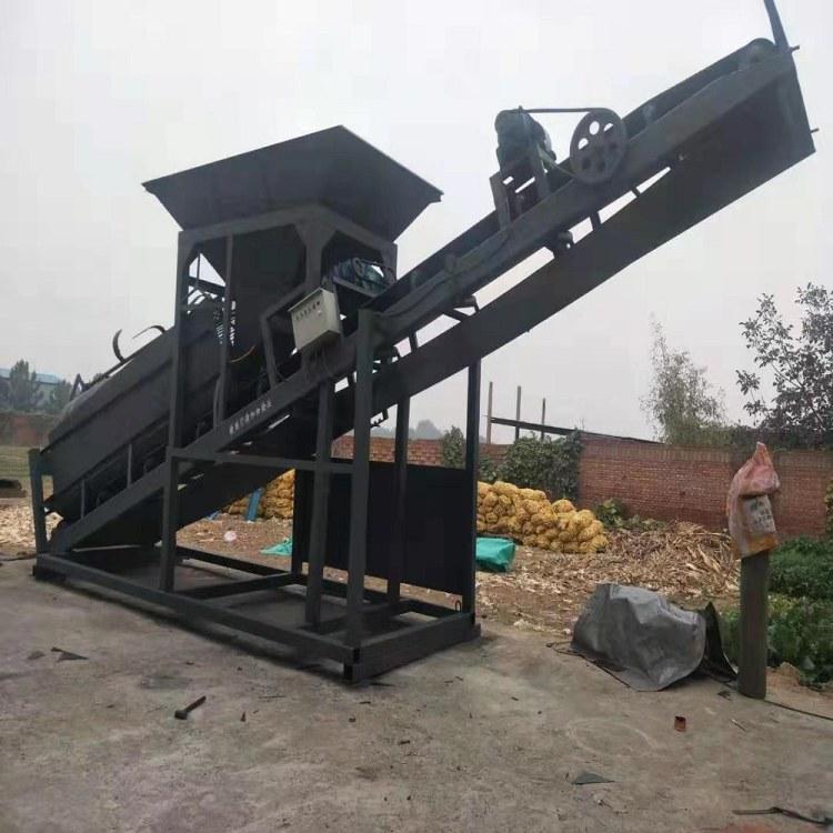 重型筛沙机 砂石分离机 旱地筛沙船 秦隆机械厂家直发