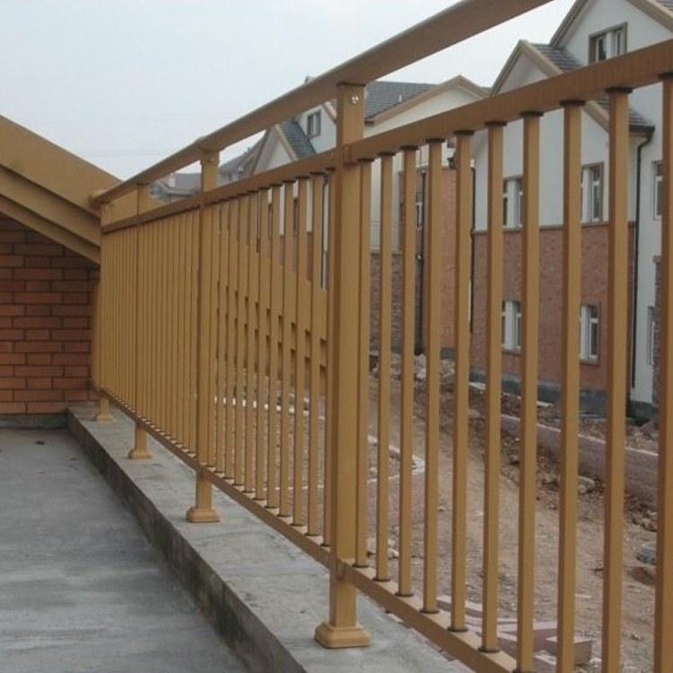 纵海金属 锌钢别墅阳台护栏 厂家直销 欧式家庭露台防护栏 铁制护栏 一件代发