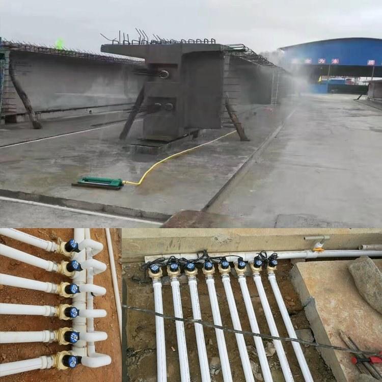 广西夏季桥梁喷淋养护机 混凝土自动喷淋系统养护效果好