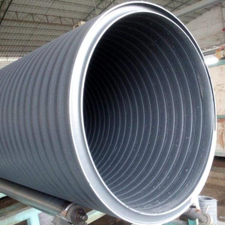 合肥HDPE中空壁缠绕管厂家 HDPE中空壁缠绕管厂家供应 井筒管价格
