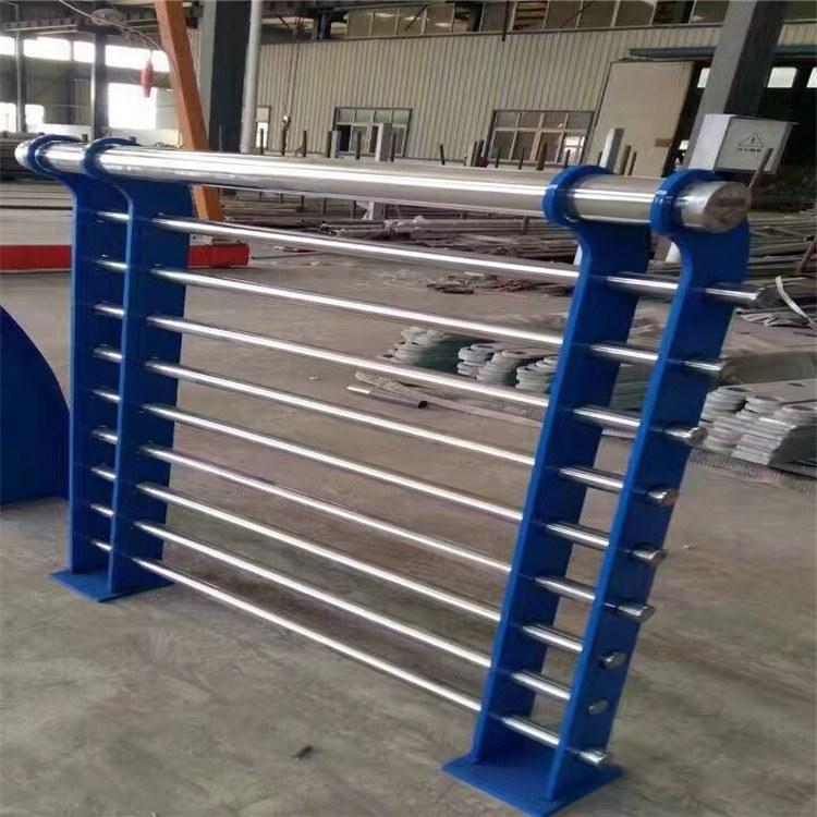 河北川益厂家直销道路护栏  不锈钢复合管护栏 可来图定制量大从优