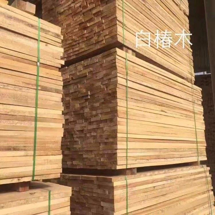 【森培木业】 供应  白椿木板材 椿木烘干板  河南加工厂价格  板材厂家批发