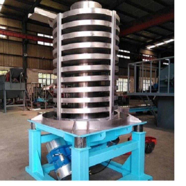 龙岩BEO80垂直冷却振动提升机 筛分喂料输送一体机 降温螺旋提升机 河南骄阳厂家