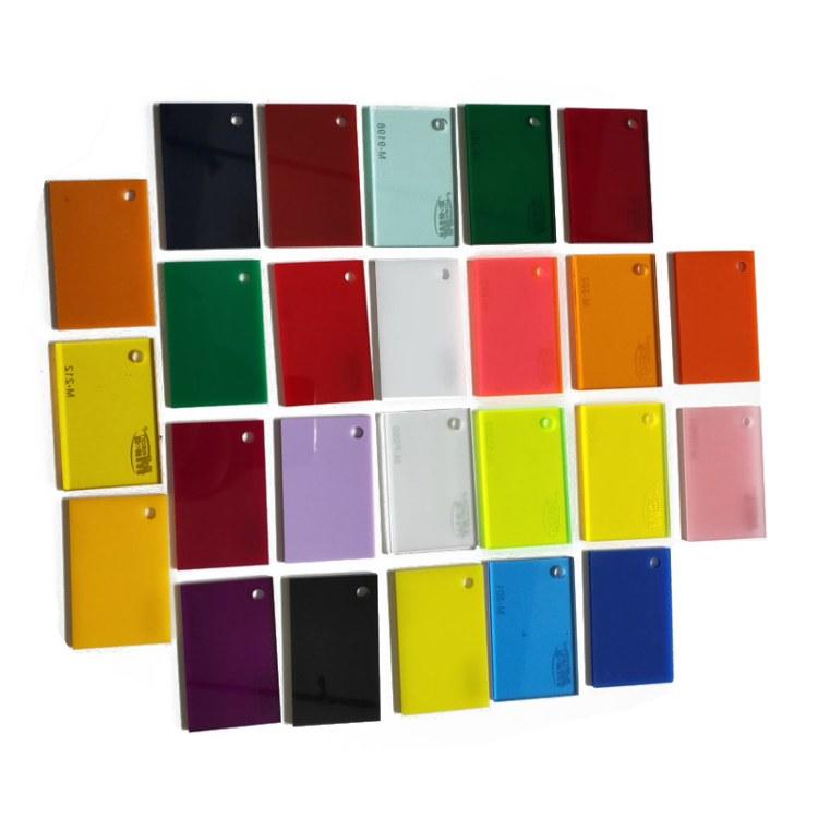 新型装饰材料亚克力定制彩色PMMA有机玻璃板拿图定做切割满减优惠