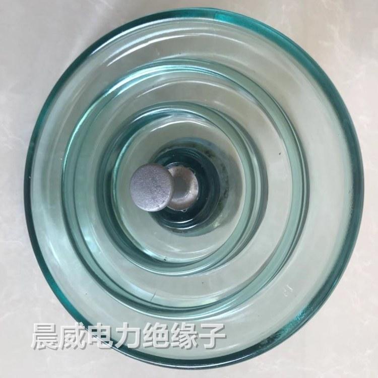 四川电力施工队玻璃绝缘子 河北晨威玻璃绝缘子生产厂家