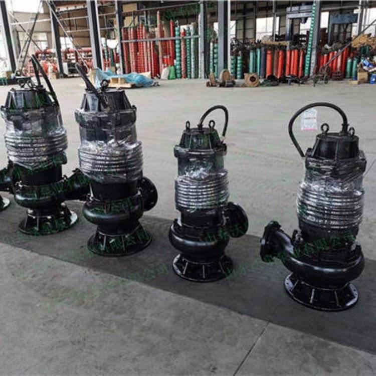 温州河道抽泥泵 潜水吸沙泵 电动清淤泵