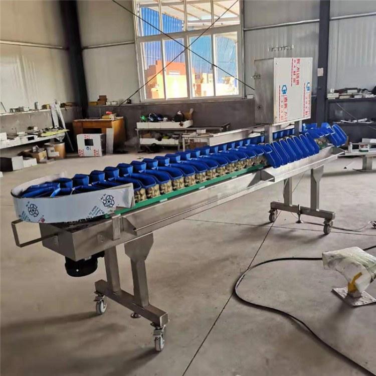 潍坊智能分拣机 鸡蛋分级称 皮带重量分级称 全自动重量选别称 厂家直销