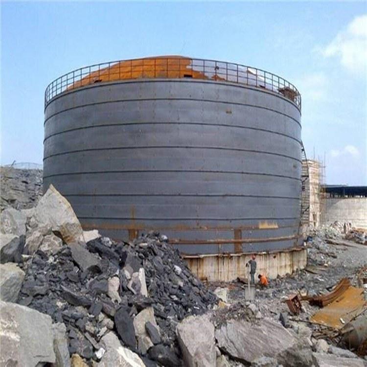 现货销售搅拌站用立式水泥罐 混凝土立式水泥仓 粉煤灰钢板仓