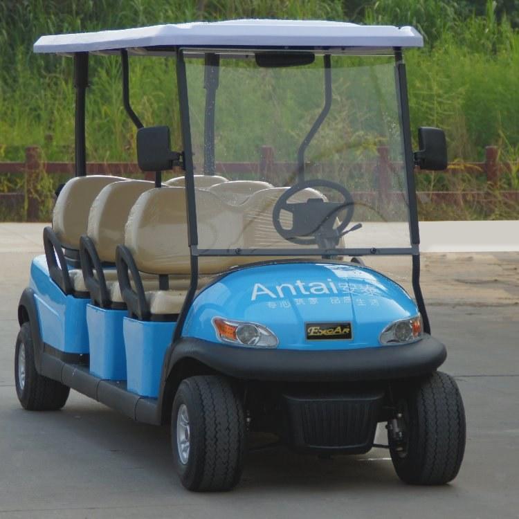 全国销售 鸿畅达六座电动高尔夫球车 供应商直销广东电动车 旅游电动游览车