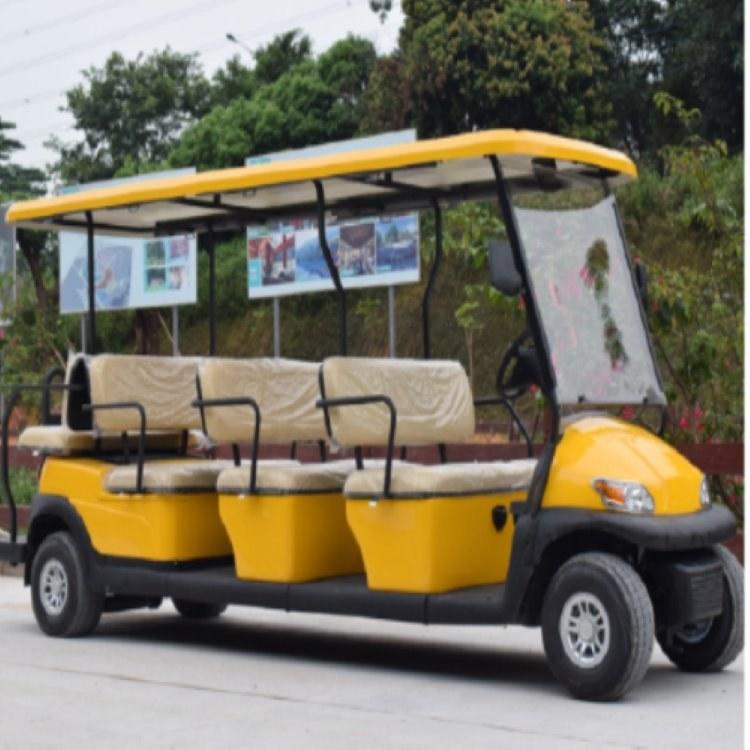 鸿畅达供应商直销 十一座电动高尔夫球车A1S8+3 广东电动观光车 深圳电动巡逻车