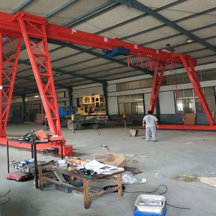 天津厂家批发门式起重机3吨5吨10吨电动龙门吊双梁单梁起重机价格