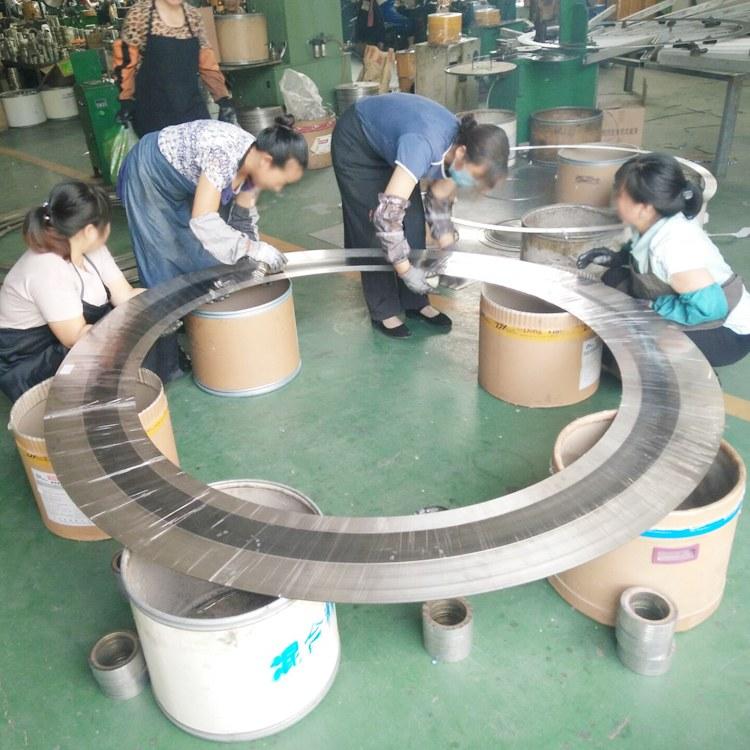 304不锈钢带内定位环金属缠绕垫片 河北信达 金属缠绕垫片厂家