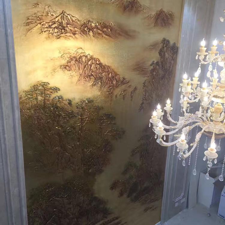 上海手绘金箔画价格_手绘金箔画价格报价