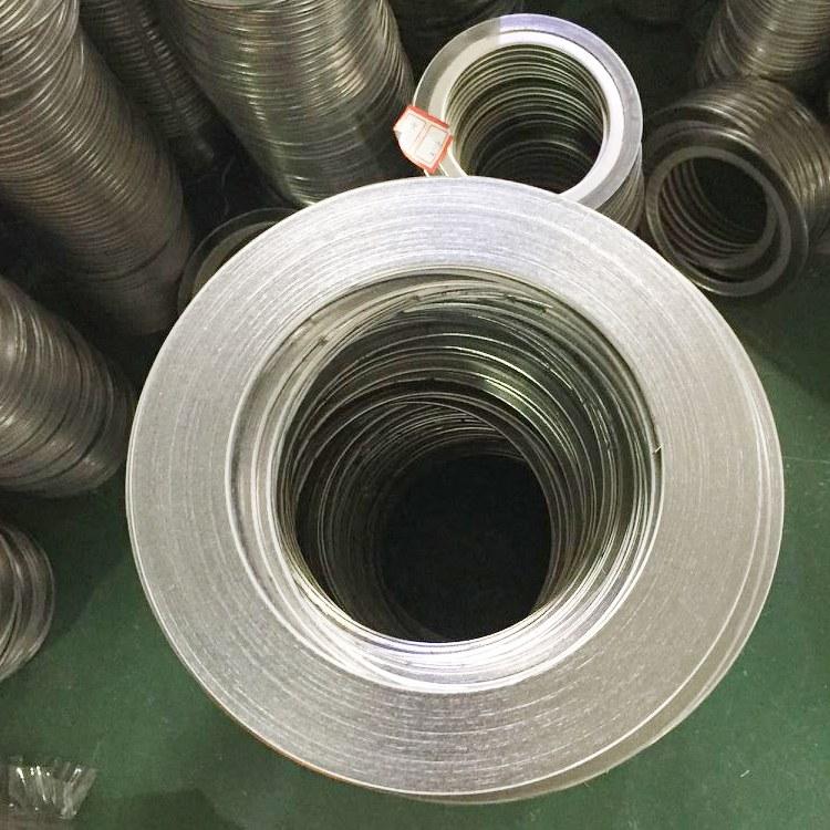 信达密封供应  不带环基本型金属缠绕垫片  25高品质金属缠绕垫片厂家