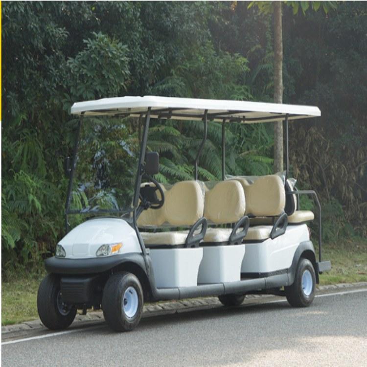 全国热销 鸿畅达八座电动高尔夫球车A1S6+2 别墅看房车 东莞电动车