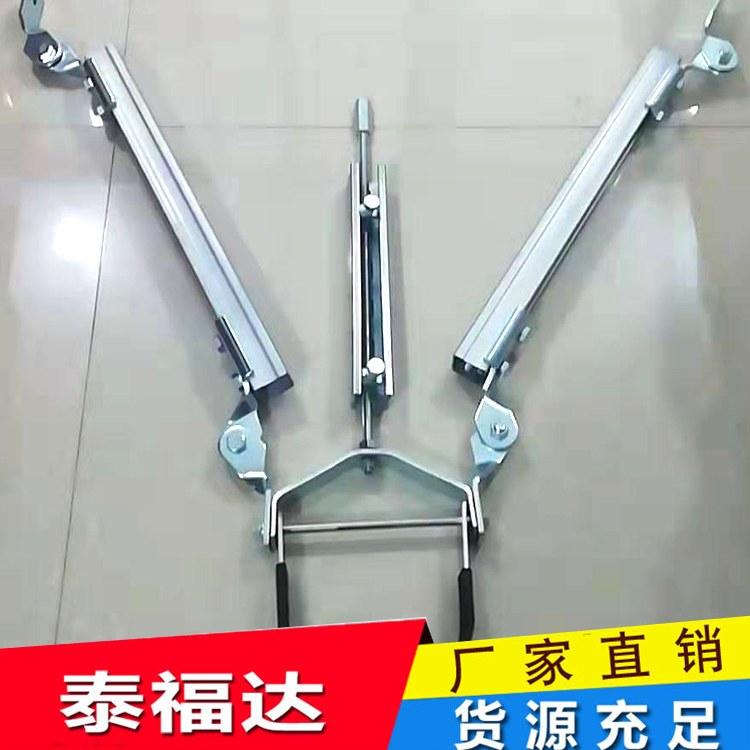 泰福达厂家直销抗震支架 通风消防给水侧向纵向支吊架 地下综合管廊托臂 可定制