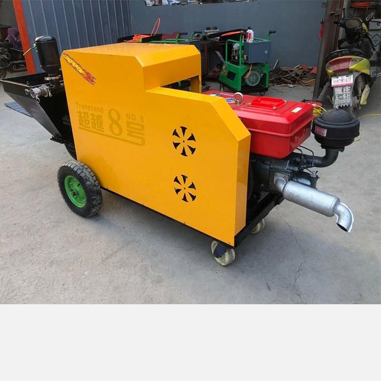 河北 弘百水泥砂浆喷涂机配件电动防水柱塞式外墙小型多功能 高压喷浆机