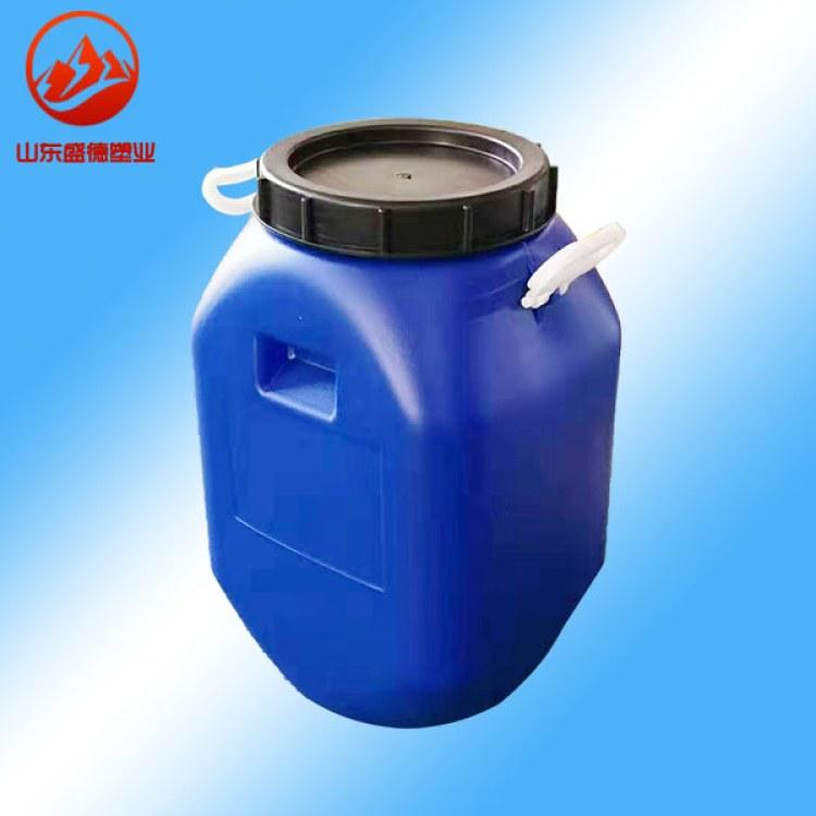 桦甸市供应50升方形开口桶50公斤水泥发泡剂桶永吉县50千克化工桶食品桶不怕摔不怕晒