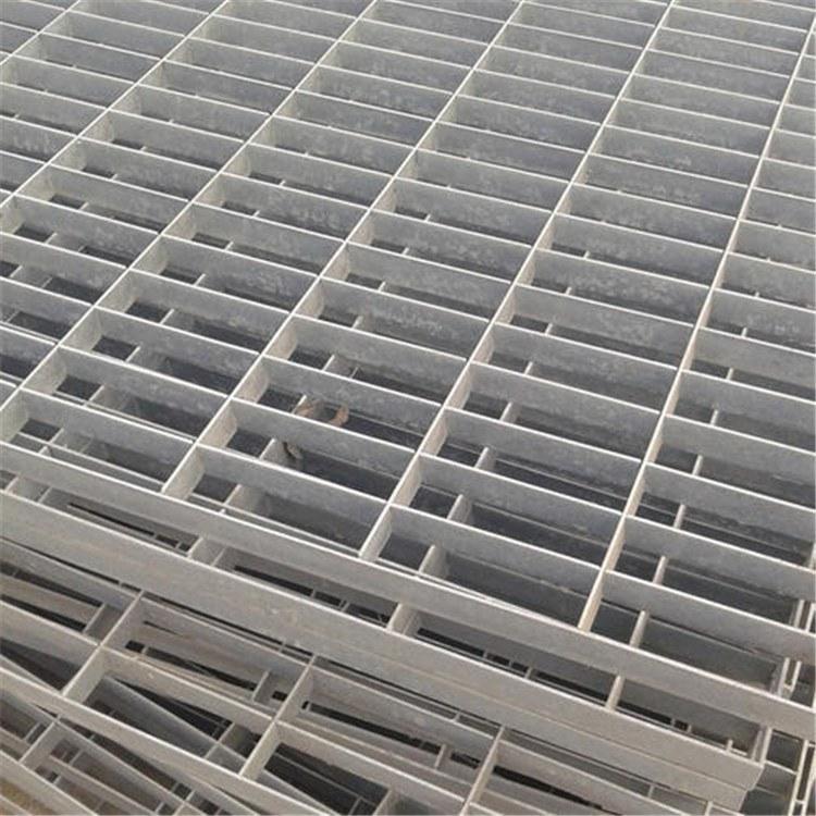 厂家直供停车建筑热镀锌钢格栅板 道路镀锌钢格盖板产地批发
