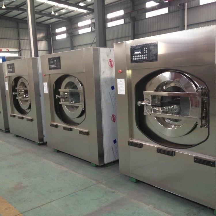 洗台布桌布100公斤卧式水洗机全自动水洗机