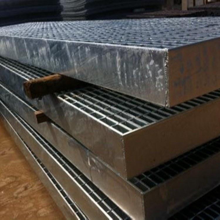 顺雄厂家直销 观景平台钢格栅板 油库格栅板 重型钢格板