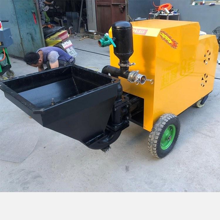新款砂浆喷涂机材料喷涂机多功能喷浆机变频腻子拉毛机