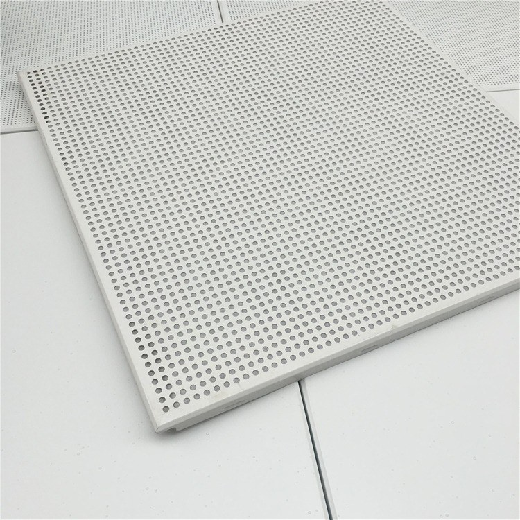 厂家直供_铝单板_600乘600铝扣板_工装吊顶专用